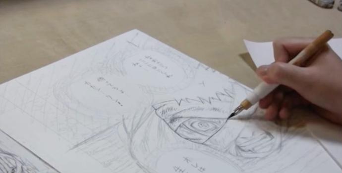 ペン入れの技術<キャラ実践①>