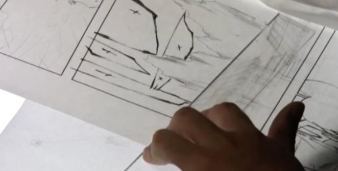 ペン入れの技術<背景実践①>